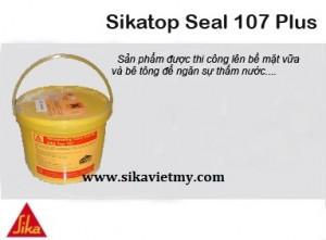 chống thấm Sikatop Seal 107 plus viet my