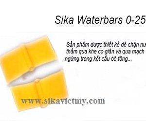 Sika Waterbar 0-25 bang can nuoc