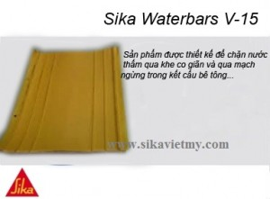 Sika Waterbars V-15 bang can nuoc