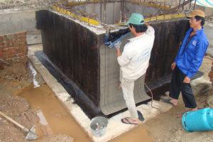 Phương án xử lý chống thấm bể ngầm