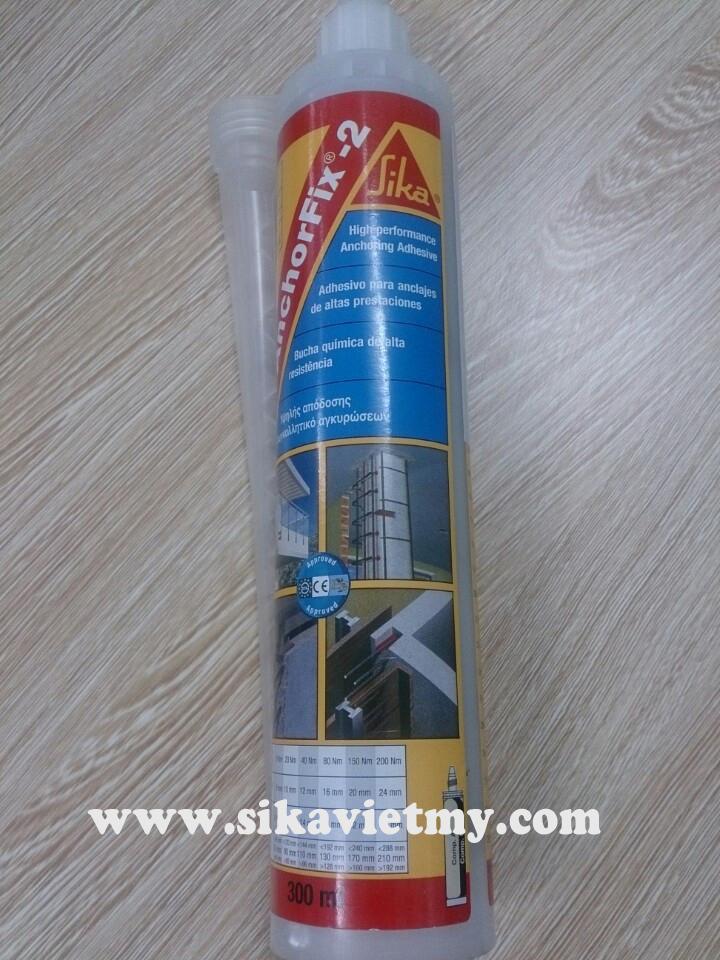 Sika Anchorfix 2 Hóa chất cấy thép