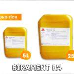 SIKAMENT R4 PHỤ GIA SẢN XUẤT BÊ TÔNG